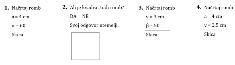Romb-vaje